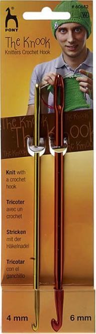 Großhandel Knooking Nadel 4mm+6mm