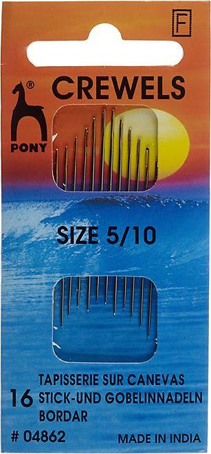 Großhandel Stick und Gobelin Nadeln ST 5-10 silber