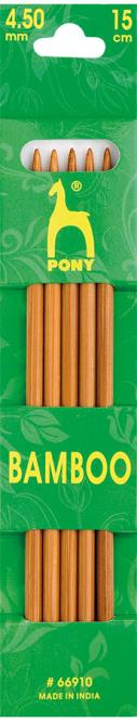 Wholesale Bamboo Knitting Pin Double Ended (So5)