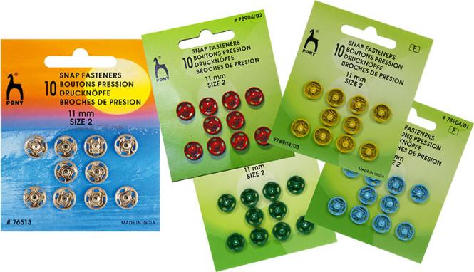 Wholesale Snap Fasteners MS 11mm