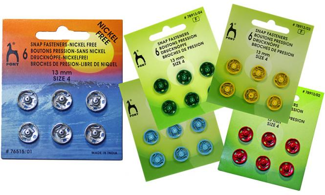 Wholesale Snap Fasteners MS 13mm