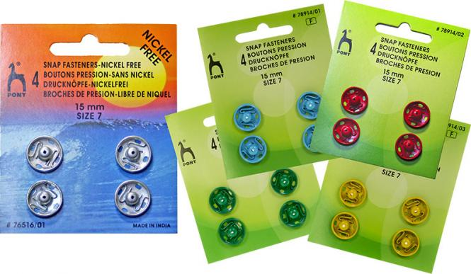 Wholesale Snap Fasteners MS 15mm