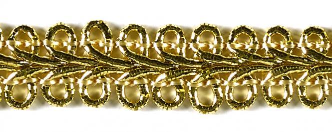 Großhandel Posamentenborte gold / silber 9mm