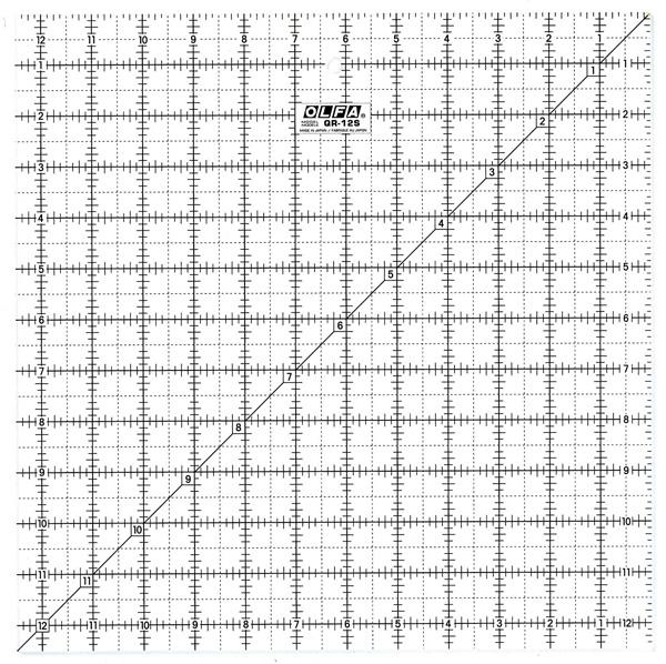 "Großhandel Patchwork Lineal 12,5x12,5"""
