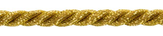 Großhandel Kordel 4mm gold/silber