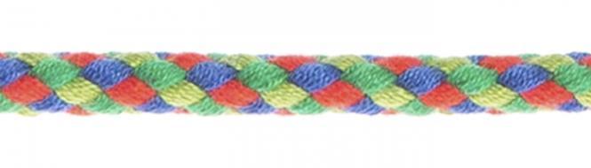 Großhandel Flechtkordel 6mm multicolor