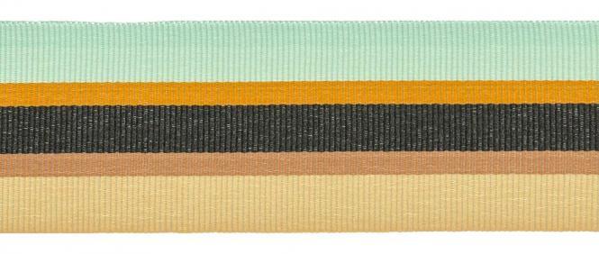 Großhandel Ripsband 35mm farbig gestreift