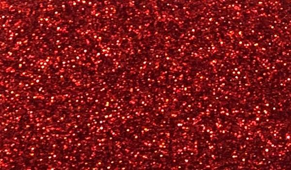 Großhandel Glitzerstoff-Zuschnitt Rot 66x45cm