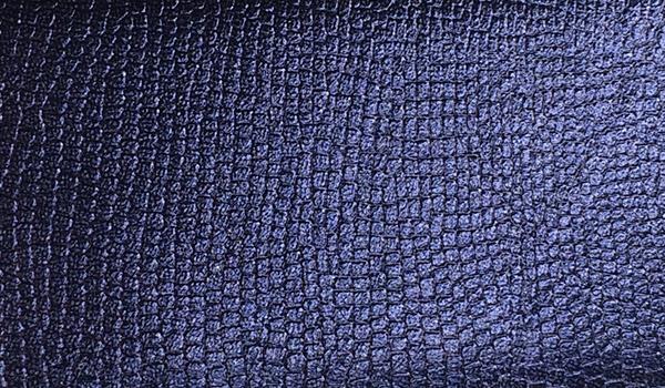 Großhandel Kunstleder-Zuschnitt Metallic Glänzend Marine 66x45cm