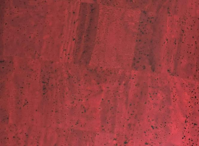 Großhandel Korkstoff Surface Weinrot