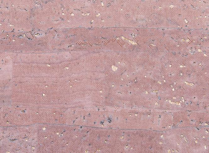 Großhandel Korkstoff Surface rosa mit gold