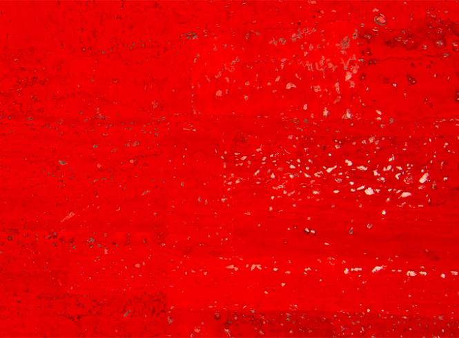 Wholesale Cork Fabric surface red