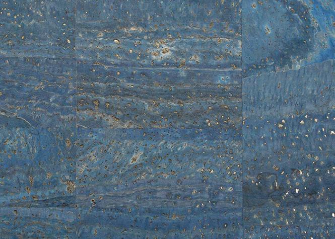Wholesale Cork Fabric surface denim blue