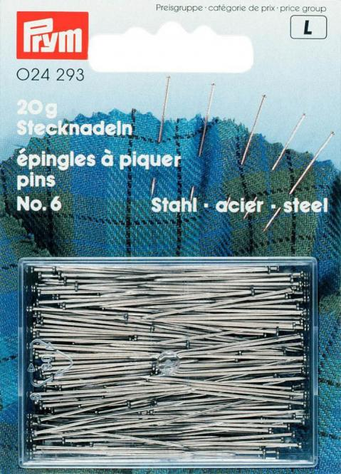 Wholesale H&T steel pins 30x0.60 si-col        20g