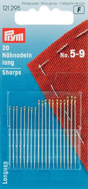 Wholesale Sew ndls sharps H&T 5-9 go-col     20pc