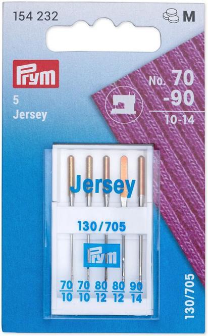Wholesale Sew mach Ndls Jersey 130/705 70-90 5pc
