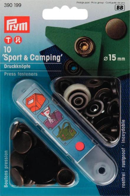 Großhandel NF-Druckknopf Sport & Camping