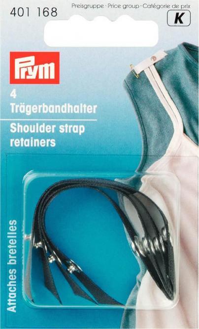 Wholesale Shoulder strap retainers black 4 pc