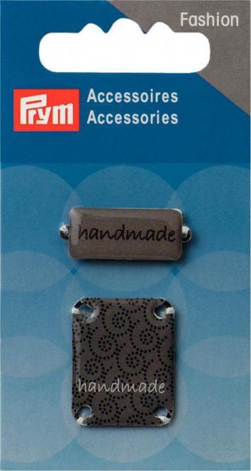 Großhandel Pins handmade zum Annähen grau