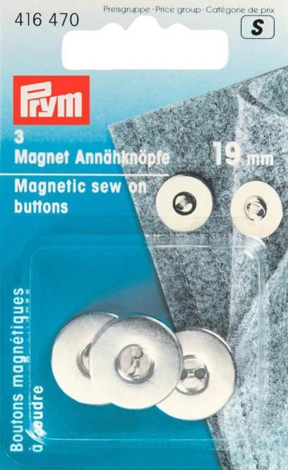 Großhandel Magnet-Annähknöpfe