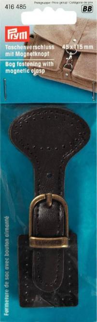 Großhandel Taschenverschluss mit Magnetknopf