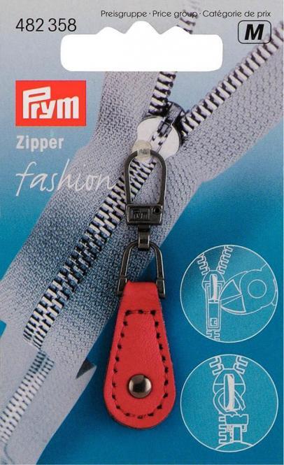 Großhandel Fashion Zipper Lederimitat rot