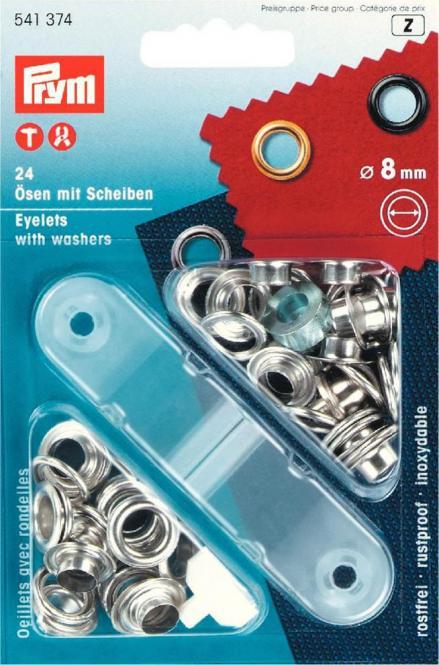 Wholesale Eyelets + washers 8,0mm