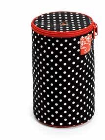 Wholesale Wool dispenser Polka Dots Black/White1pc