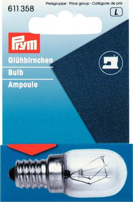 Großhandel Glühbirne für Nähmaschinen 15W Schraub-Fassung