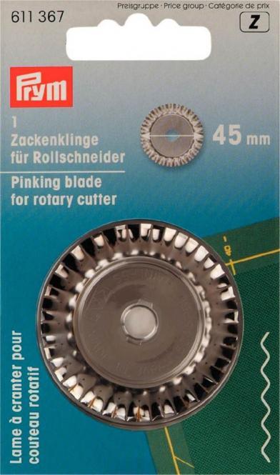 Großhandel Ersatzklinge für Rollschneider Zacken 45 mm
