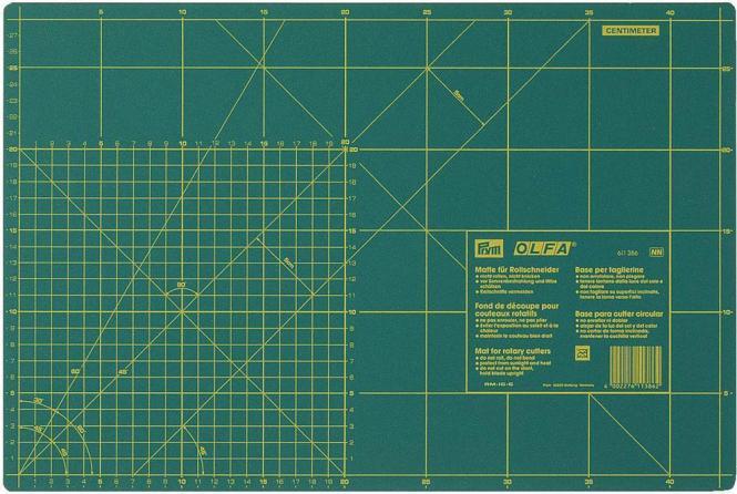 Prym Schneideunterlage cm//inch-Einteilung 45 x 60 cm