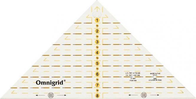 Großhandel Flottes Dreieck 1/4 Quadrat inch