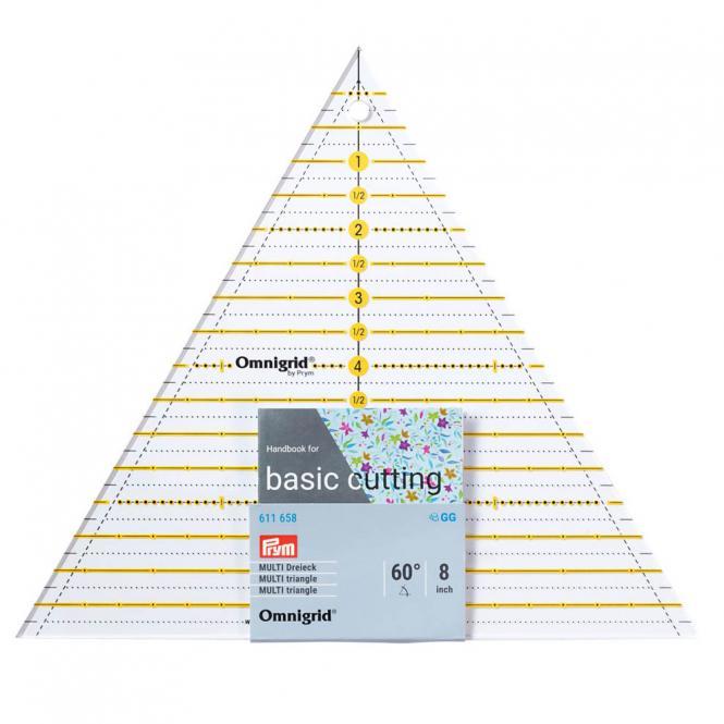 Großhandel Patchwork-Lineal 60 Grad Dreieck Multi 8 inch Omnigrid