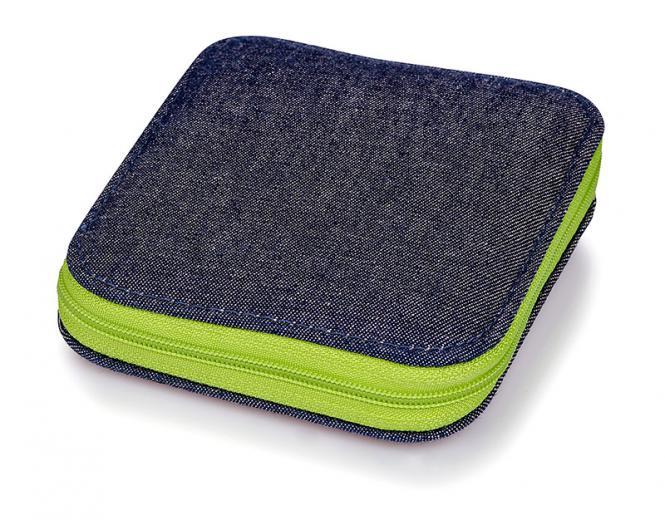 Großhandel Nähset Jeans Reißverschluss grün