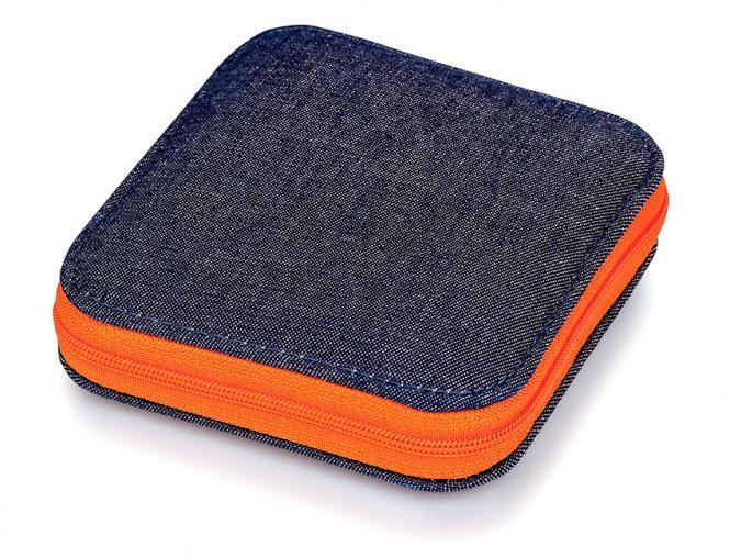 Großhandel Nähset Jeans Reißverschluss orange
