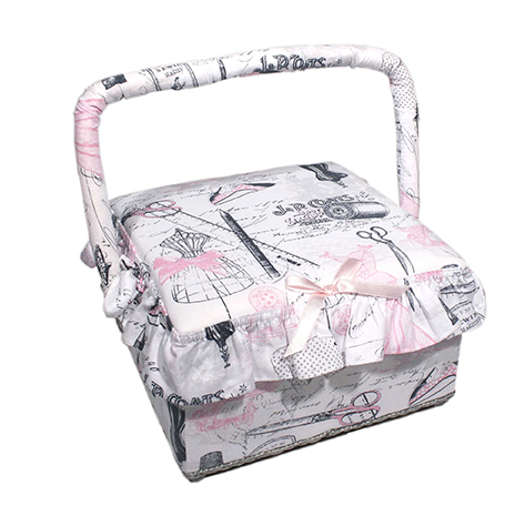 Wholesale sewing basket Haute Couture