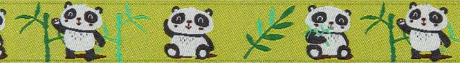 Wholesale Woven Ribbon Panda