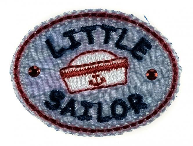 Großhandel Applikation Little Sailor