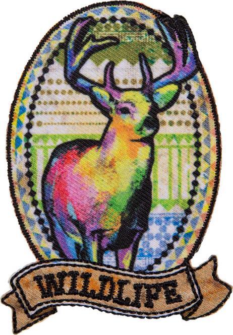 Großhandel Applikation Hirsch Wildlife