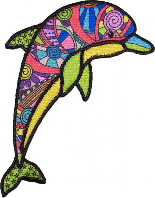 Großhandel Applikation Delphin
