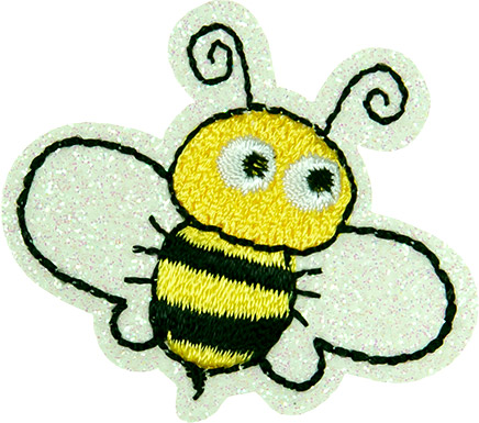 Großhandel Applikation Biene