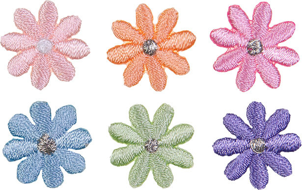 Wholesale Motif Assortment 6x1 flower