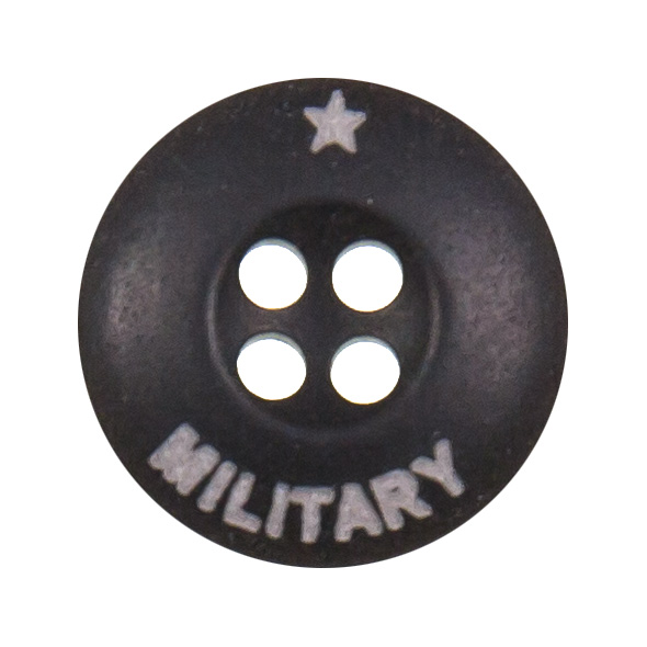 Großhandel Knopf 4-Loch Military 18mm