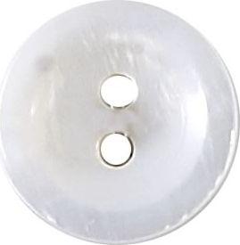 Großhandel Knopf 2-Loch Hemden/Blusen Perlmutt 12mm