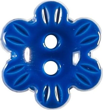 Großhandel Knopf 2-Loch Blume 15mm