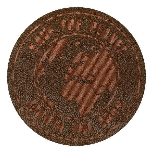 Wholesale Motif Save the Planet Brown