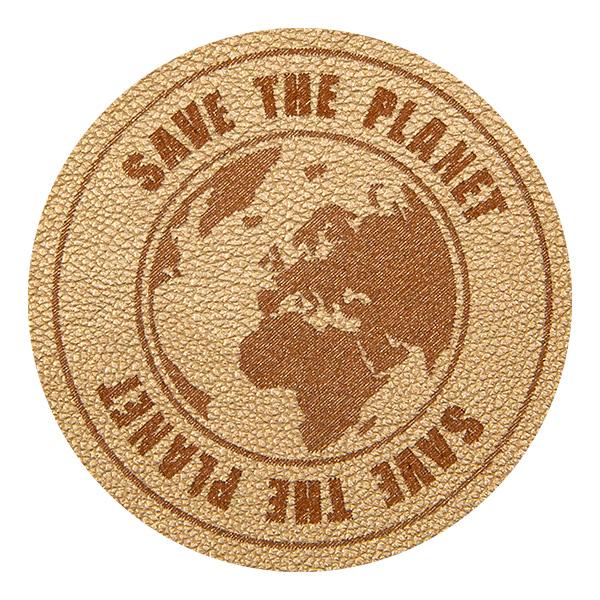 Wholesale Motif Save the Planet Gold