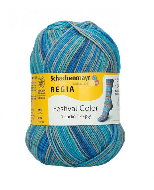 Großhandel Regia 4-fädig Color 100g