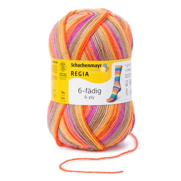 Großhandel Regia 6-fädig Color 150g