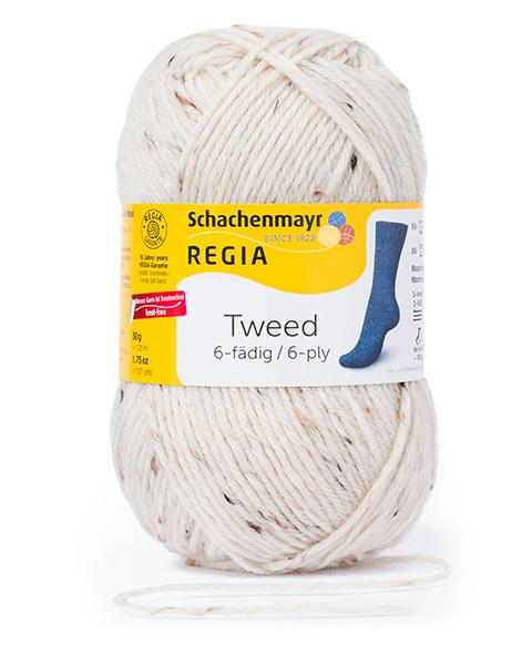 Wholesale Regia 6-Thread Tweed 50G